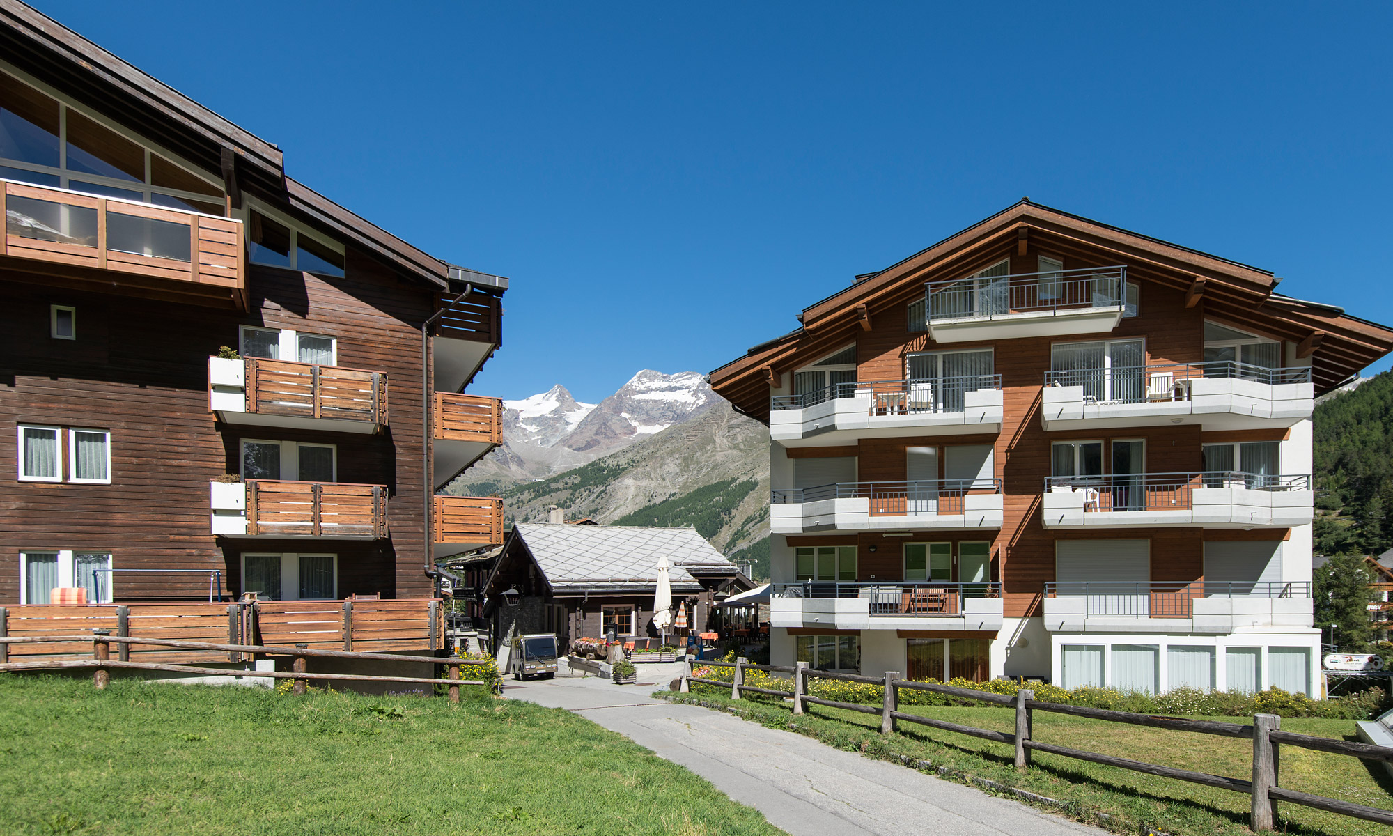 Appartements in Saas-Fee